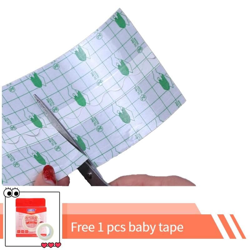 5/7/10/15/20cmx10m Waterproof Transparent Adhesive Wound Dressing Fixer Plaster Fixomull Stretch PU Film Roll Fixatio