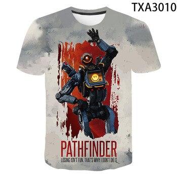 Games Apex Legends Casual Men Women Children 3D T Shirts  Fashion Short Sleeve Boy girl Kids Printed T-shirt Cool Tops Tee 1