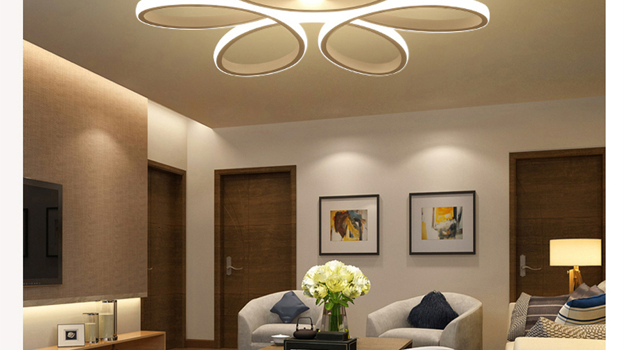 H397793d4c4374762bdf2dd0bb8616061R Living room ceiling lamp led dimmable for bedroom aluminum body indoor lighting fixture plafonnier led lights dining room