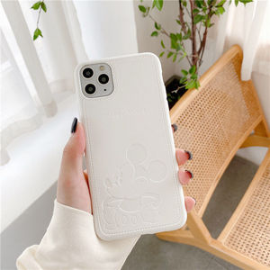 Image 2 - 2021 Disney for iphone 7/8 plus x xsmax xr se2020 iphone11pro Max cute girl couple creative phone case