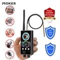 Proker IR Laser RF Detektor T9000 Anti Spy Cam Versteckte Kamera Scanner WiFi Signal GPS GSM Radio Telefon Tracker Finder private