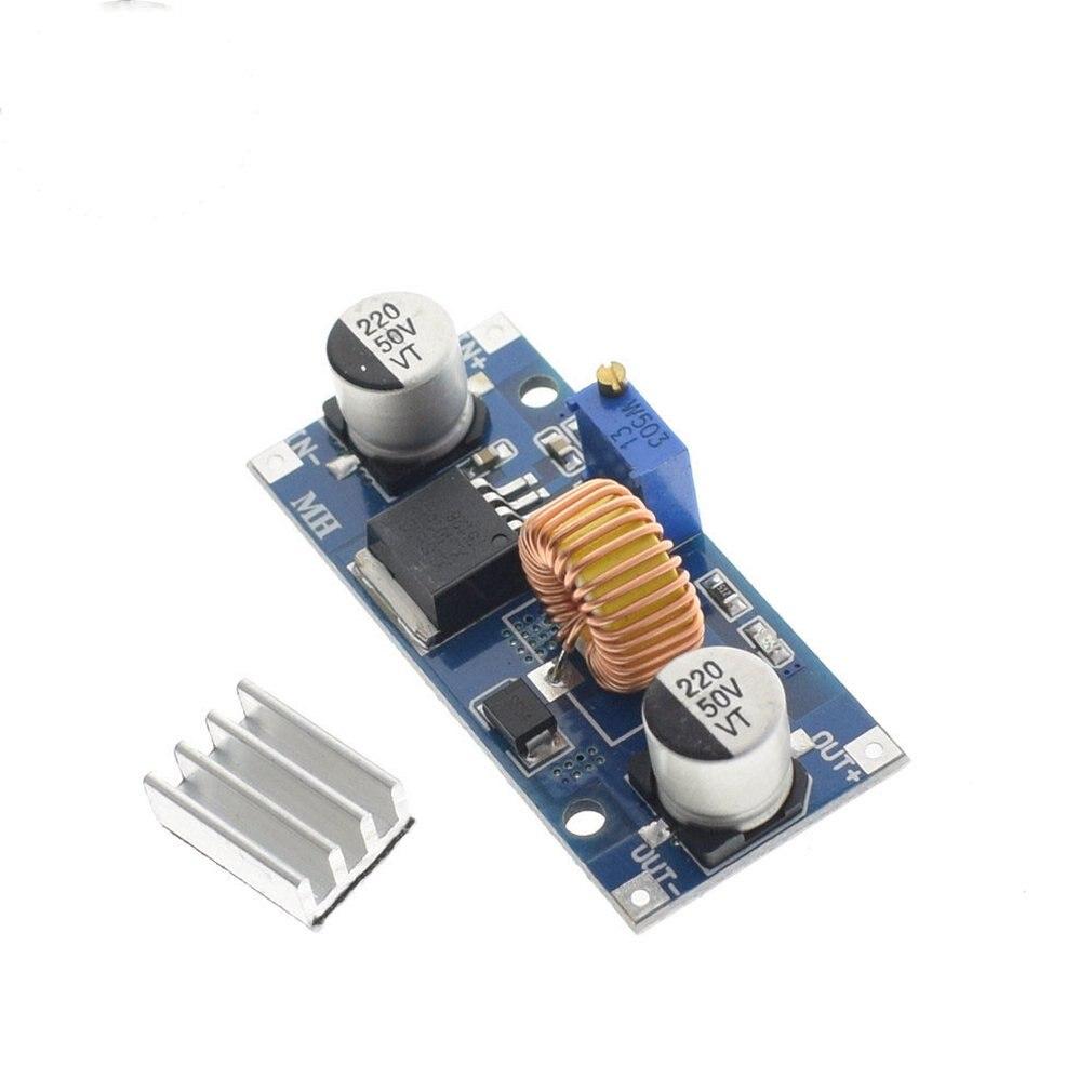 Dc-Dc Xl4015 Adjustable Buck Module 4~38V High Power 96% High Efficiency 5A Buck Module