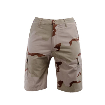 2020 New Summer Polyester Cotton Camouflage Shorts Men Knee Length Casual Military Mens High Quality Fitness Short