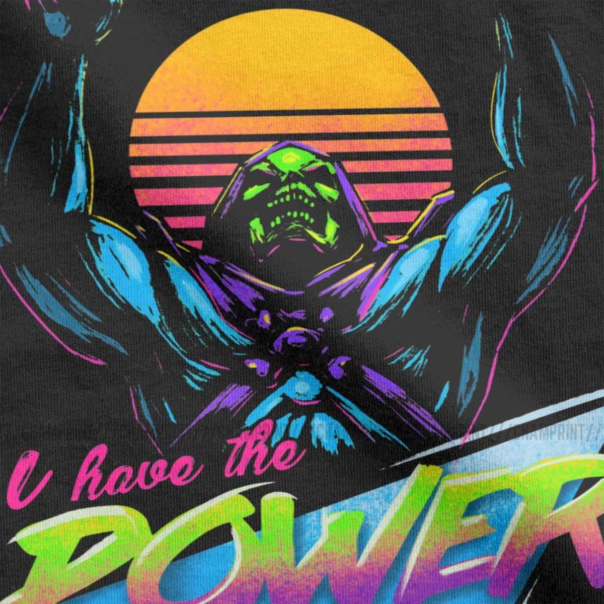 Uomini s 'Il Potere di He-Man Masters Of The Universe T Camicia Skeletor 80s She-Ra Bestia cotone Magliette e camicette Del Manicotto Del Bicchierino Tee 4XL 5XL T-Shirt
