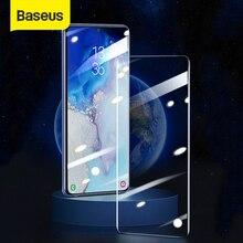 Baseus UV temperli cam Samsung Galaxy S20 artı tam kapak 2 adet ekran koruyucu koruyucu cam için Galaxy S20 s20 Ultra