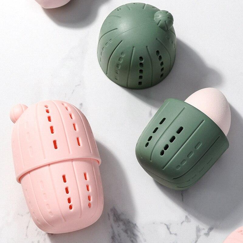 Fashion Mini Cosmetic Bag Beauty Egg Travel Storage Portable Organizer Holder Small Makeup Beauty Waterproof Women Girl Box