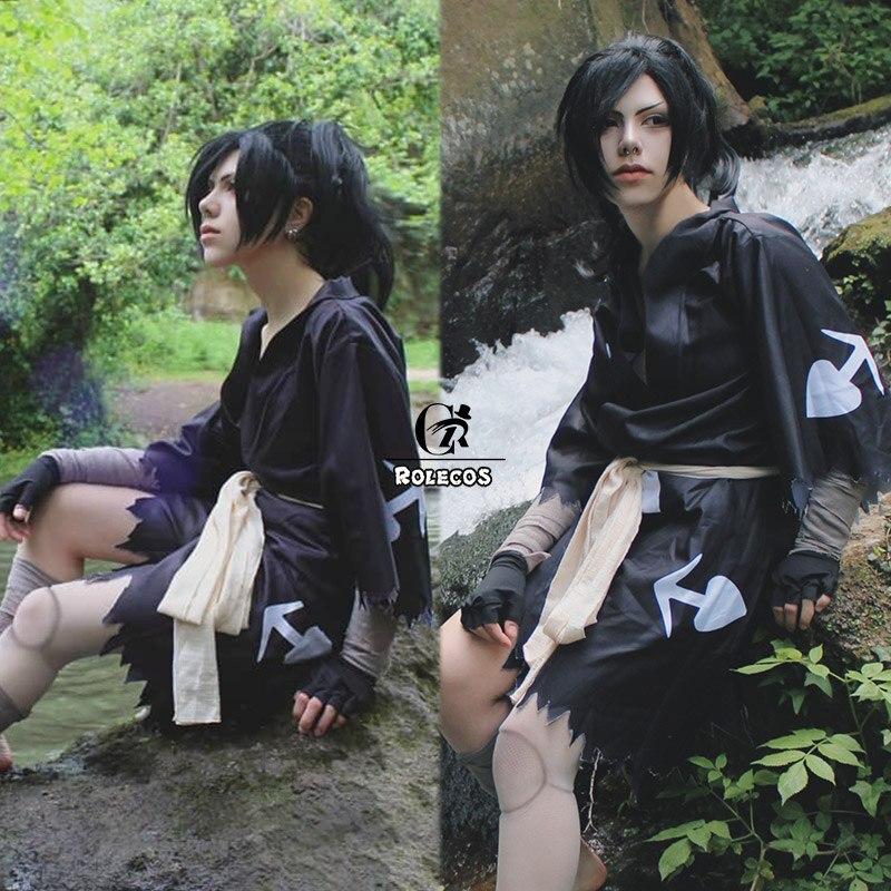 ROLECOS Japanese Anime Dororo Cosplay Costume Hyakkimaru Kimono Cosplay Costume Halloween Costume Men Kimono Cloak Full Set