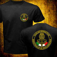 T-Shirt Men Swat Tactical-Unit Police Italy Special-Force Nocs Creative Cotton Tees Counter
