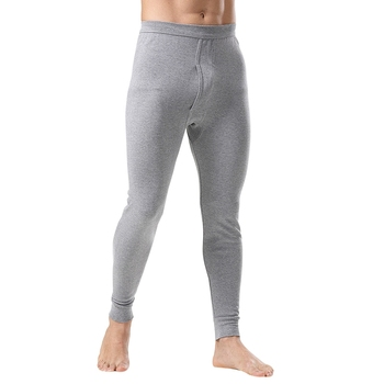 Fashion Thermal Underwear for Men Long Johns Loose Thermal Pant Underwear Men Plus Size Warm Mens Leggings Long Pants Wholesale