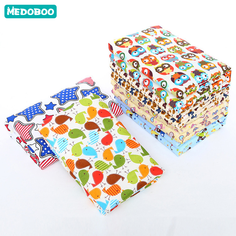 Medoboo 60*80CM Cotton Baby Diaper Changing Mat Pad 3 Layers Waterproof Newborn Urine Station Mattress Sheet Cover