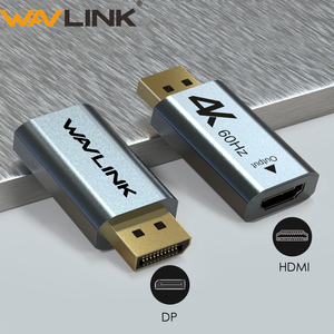 Image 1 - Wavlink 1080P DisplayPort כדי HDMI מתאם DP כדי HDMI ממיר 4K 2K @ 60Hz תמיכת וידאו אודיו עבור מחשב נייד HD מקרן