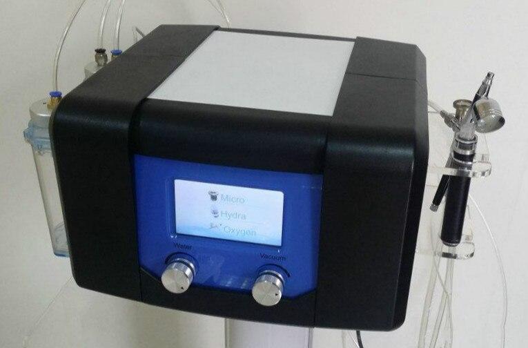 3 In 1 Diamond  Hydra Dermabrasion Oxygen Jet Peel Oxygen Spray Hydrafacial Water Aqua  Peeling Machine