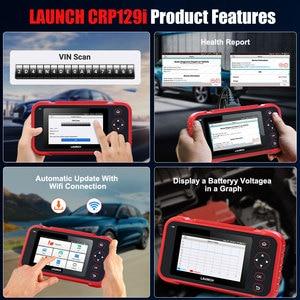 Image 5 - LAUNCH – outil de diagnostic automobile professionnel CRP129i, lecteur de Code OBD2, SAS, SRS, EPB, Service de réinitialisation de lhuile