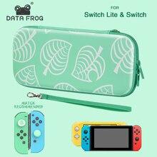 DataFrog נייד תיק נשיאה עבור Nintendo מתג/Nintendo מתג לייט אחסון תיק עבור מתג Lite אבזרים