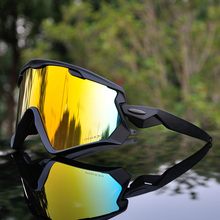 Brand New S3 Bike Cycling Glasses Outdoor Sports Cycling Goggles TR90 Peter Men Cycling Eyewear UV400 Sunglasses 3 Lens glasses frame men brand vintage optical wide black stainless steel tr90 computer goggles oculos de grau eyewear frames gx001