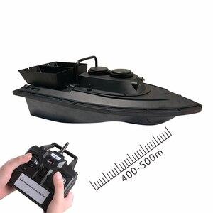 Image 5 - Большая двойная Воронка с умным беспроводным управлением, радиоуправляемая лодка наживка, 2,4G 55 см, 500 м, дальний двойной светильник, высокоскоростная радиоуправляемая приманка, рыболовная лодка