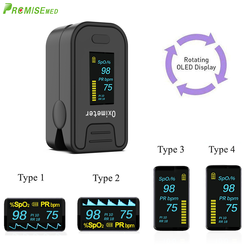 Image 4 - PRO M130 Finger Pulse Oximeter,For Medical And Daily Sports,Pulse Heart Rate Blood Oxygen SPO2 Saturation Monitor,OLED displayBlood Pressure   -