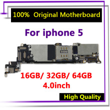 Tested Good Working Original 16GB 32GB 64GB Motherboard for iPhone 5 5g Factory Unlocked Mainboard Logic Board with IOS system цена