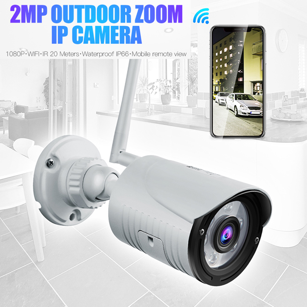 Outdoor HD1080P Wireless WIFI IP IR Night Vision Home Wireless Security Camera