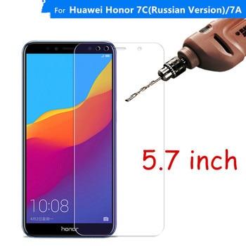 Vidrio Protector para Huawei Honor 7C vidrio templado Honor 7C versión rusa AUM-L41 Protector de pantalla para Huawei Honor 7C vidrio