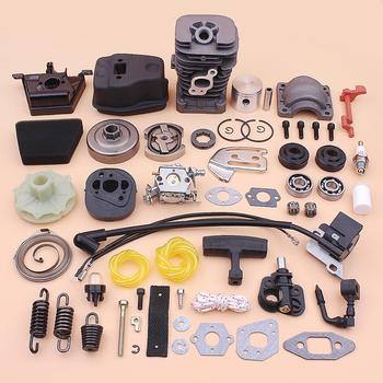 41.1mm Cylinder Piston Kit For Partner 350 351 Exhaust Muffler Clutch Drum Carburetor Ignition Coil Air Filter Repair Kit