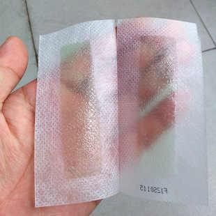10 adet/grup epilasyon tüy dökücü epilatör soğuk balmumu şeritler kağıt pedi yüz Nonwoven