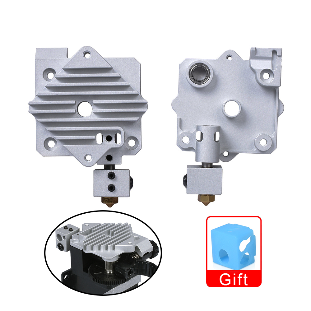 3D Printer Upgrade Parts Titan Aero HeatSink Aluminum Cooling Block V6 Titan Extruder Short Range Hotend Kit 1.75mm Radiator