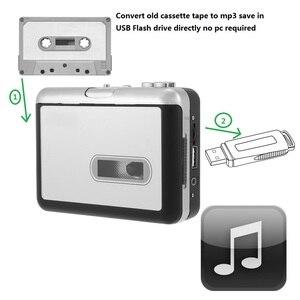 Image 2 - Grabadora de cassette de cinta nueva, convertir cassette de cinta a mp3 en disco Flash USB, no se requiere pc, reproducción, envío gratis, 2017
