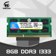 Veineda Memori Laptop DDR3 8GB 4GB 1333MHz 1600MHz SO-DIMM 1.5V Notebook Ram 204Pin SODIMM(China)