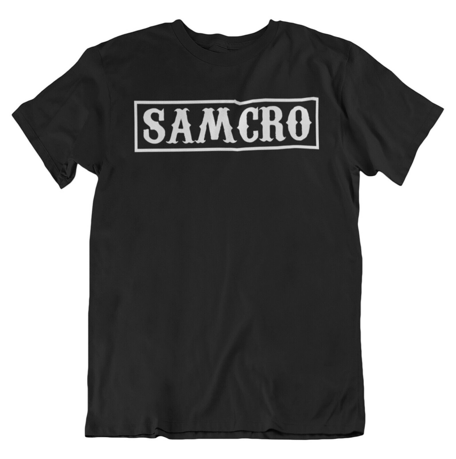 SAMCRO BLOCK Sons Of Anarchy Inspired Men's T-Shirt Top Summer Fashion Streetwear Camiseta Masculina 100% Cotton T Shirt
