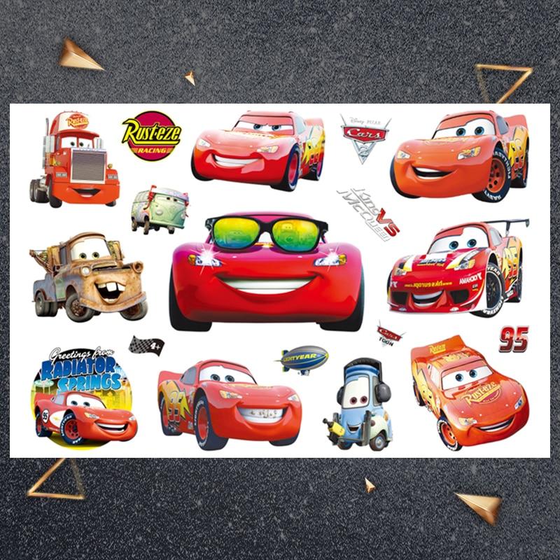 Hasbro Car combination child sticker Children Cartoon Temporary Tattoo Sticker For Boys Cartoon Toys Waterproof Party Kids Gift