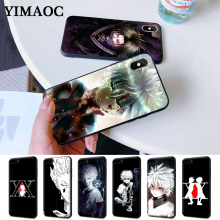 Hunter X Anime Coque Silicone Case for iPhone 5 5S 6 6S Plus 7 8 11 Pro XS Max XR