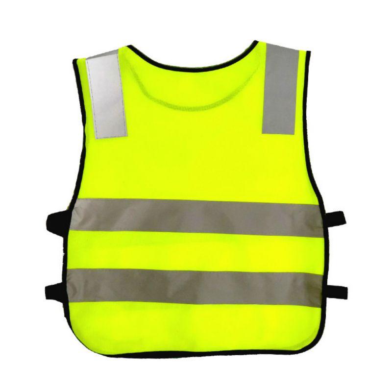 Children Vest Kids Safety High Visibility Vests Road Traffic Children Safety Reflective Reflector Vests Clothing JacketHF