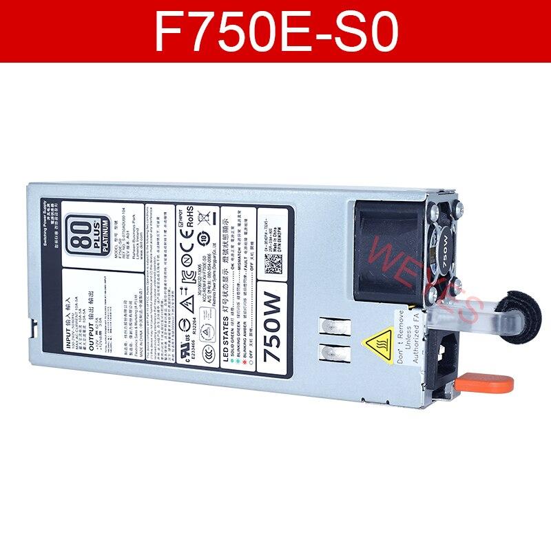 Хорошо протестированы 750W Мощность питания для Мощность край R720 R620 сервера 0CWKMX CN-0CWKMX 05NF18 F750E-S0