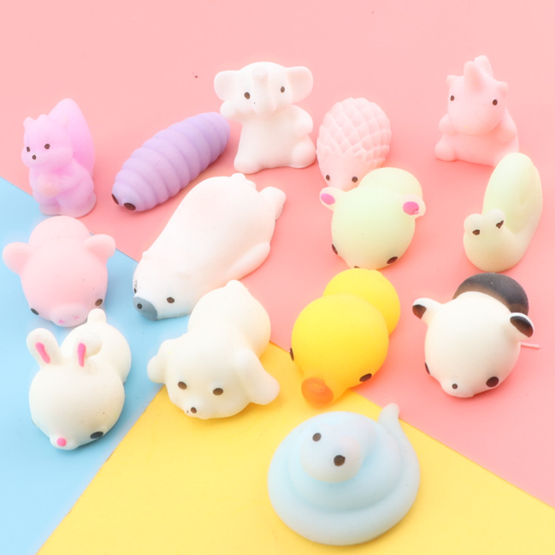 Squishy Animal Toy Squeeze Mochi Rising Antistress Abreact Ball Soft Sticky Cute Funny Gift Squishies Children  Diy Kids Toys