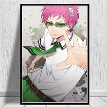 HD Prints Home Decor Saiki Kusuo No Psi Nan Canvas Poster Painting Wall Art Modular Japanese Anime Picture Frame For Living Room