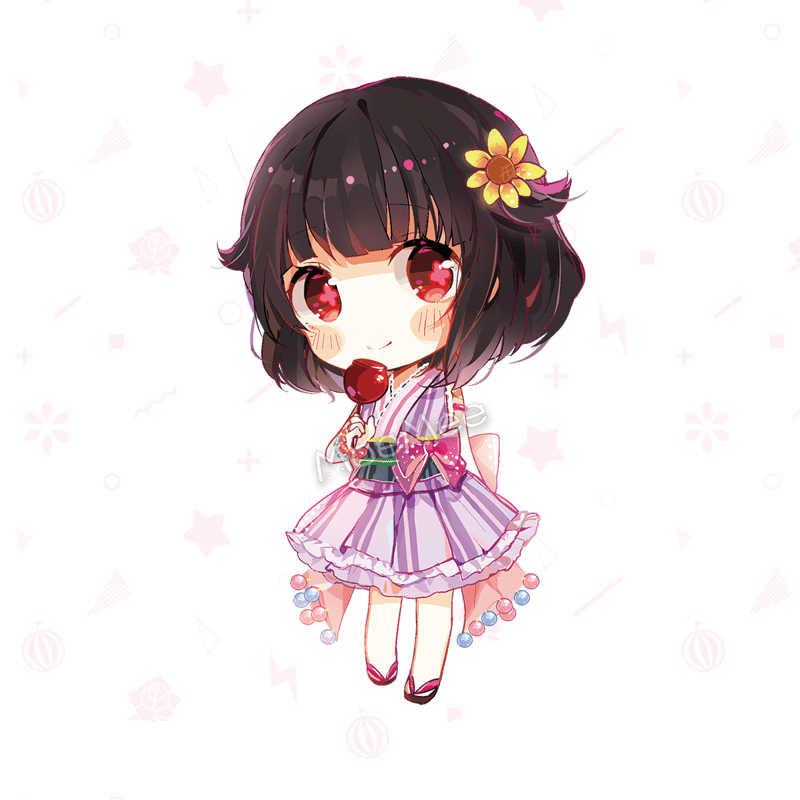 1pc Heißer BanG Traum! PoppinParty Ushigome Rimi Anime Cartoon Cosplay Prop Schlüsselring Anhänger Decor Sammlung für Mädchen