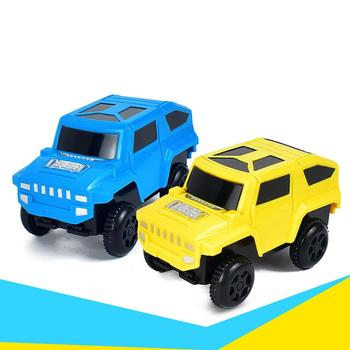 Funny Magic Track Plastic Electronic Car Kids Children Educational Toy Gift image