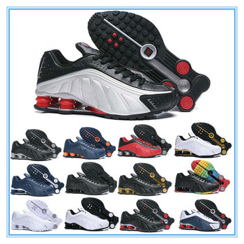 2020 New Shox R4 Designers Mens Running Shoes Luxuries NZ Sneakers Triple Black White OG Sport shoes Shoes Size EUR 40-46