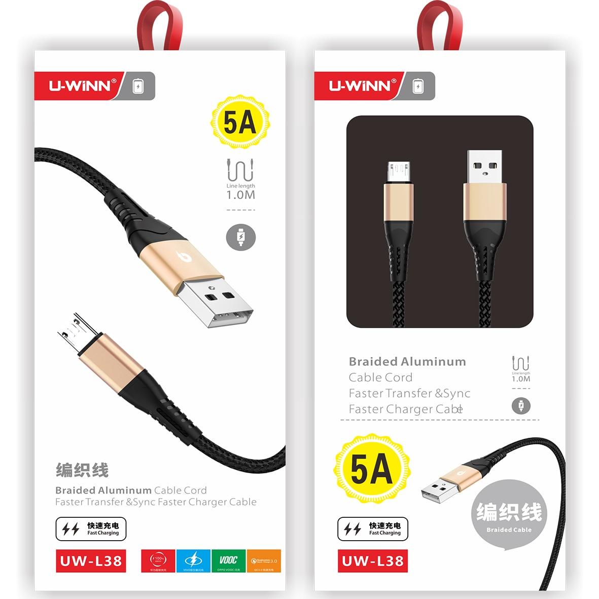Usb кабель 1 м для быстрой зарядки с usb-портом для зарядки и передачи данных и Мощность зарядки 2 в 1 Micro Usb для быстрой зарядки передачи данных дл...