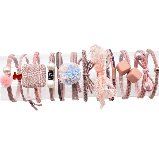 Купить 12 шт маленькая свежая веревка для волос корейский мори девушка картинки