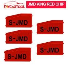 VDIAGTIOOL JMD King чип JMD удобный детский Ключ Копир JMD чип для CBAY супер JMD красный Чип-диод лампочка 10 шт./партия
