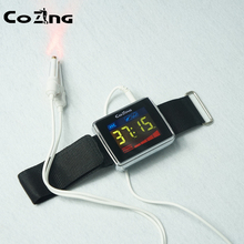 Laser Therapy Device High Blood Pressure High Blood Fat High Blood Sugar Wrist Laser Watch  Therapy Cerebrovascular Disease