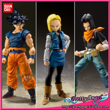 Action-Figure Dragon-Ball Bandai Spirits S.h.figuarts Son-Goku Android Genuine No No.18
