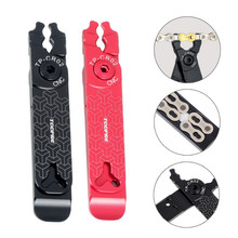 NEWBicycle Master Link Plier Bike Chain Missing Quick Connector Tire Valve Lever Buckle 5 In 1 MTB Road Bike Multifunction Tools bicycle master link plier valve tool tire lever missing link box pack pliers 4 in 1 multi function tools cnc aluminum alloy s24