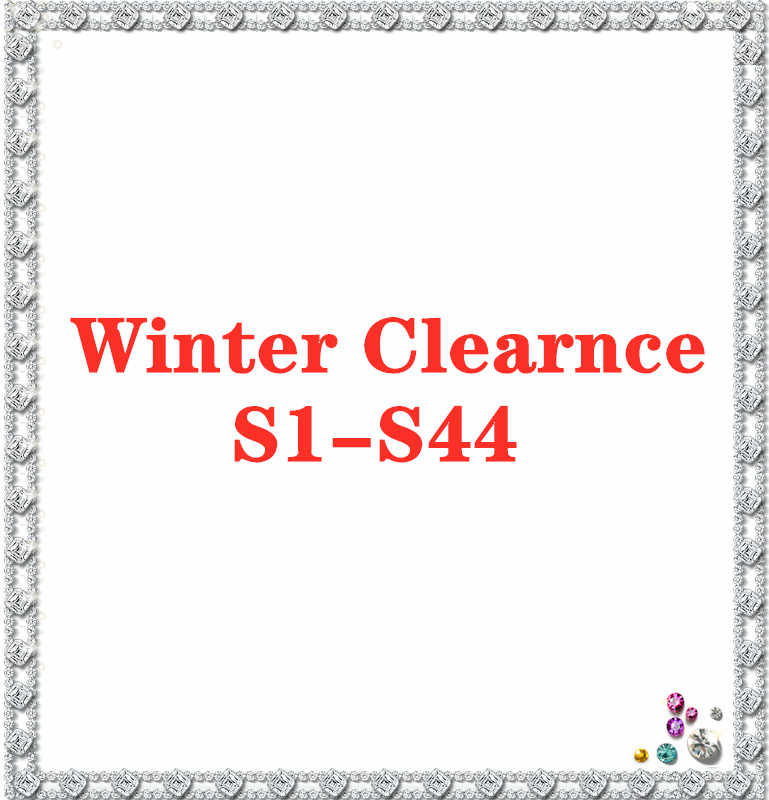 Winter Clearance Cutting Dies S1-S44