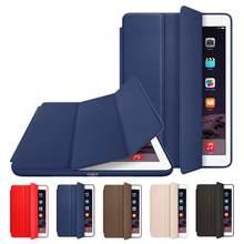Magnetic magro Inteligente Flip Fique PU Capa De Couro para o Ipad Da Apple Pro 12.9 (A1584 A1652 A1670 A1671) caso polegadas Tablet
