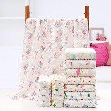 Baby Blanket Newborn Cotton Soft Cartoon Children Quilt Unicorn Animal Muslin Diapers Knitted For Blankets