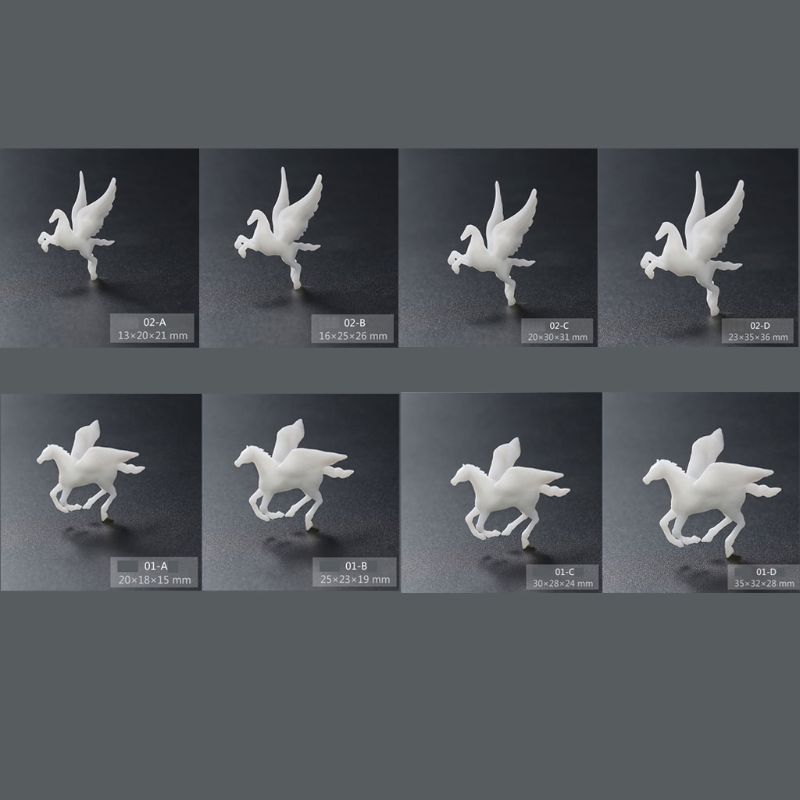 Silicone Flying Horse Modeling Resin Mold Landspace Fillings Resin Casting Art AXYD