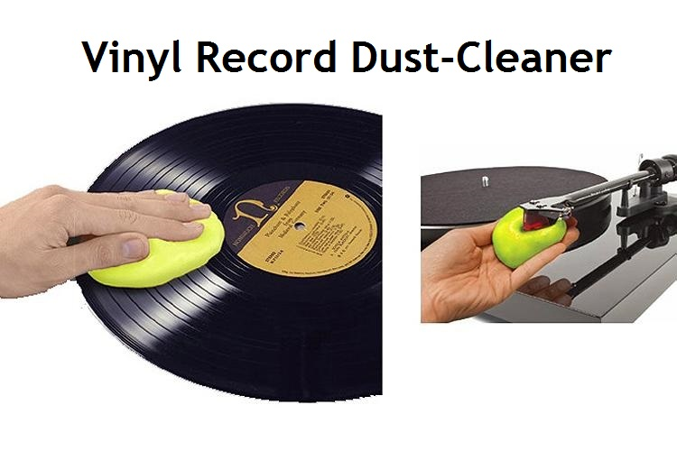 Magic Dust Cleaner For LP Vinyl Record  Turntable Cartridge Stylus